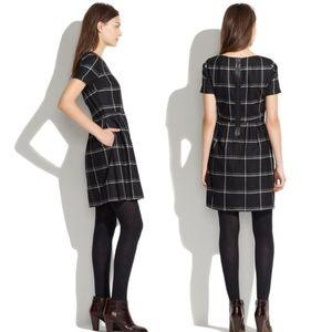 edd07b5f87b Madewell Dresses - Madewell Twirl Dress in Windowpane Plaid